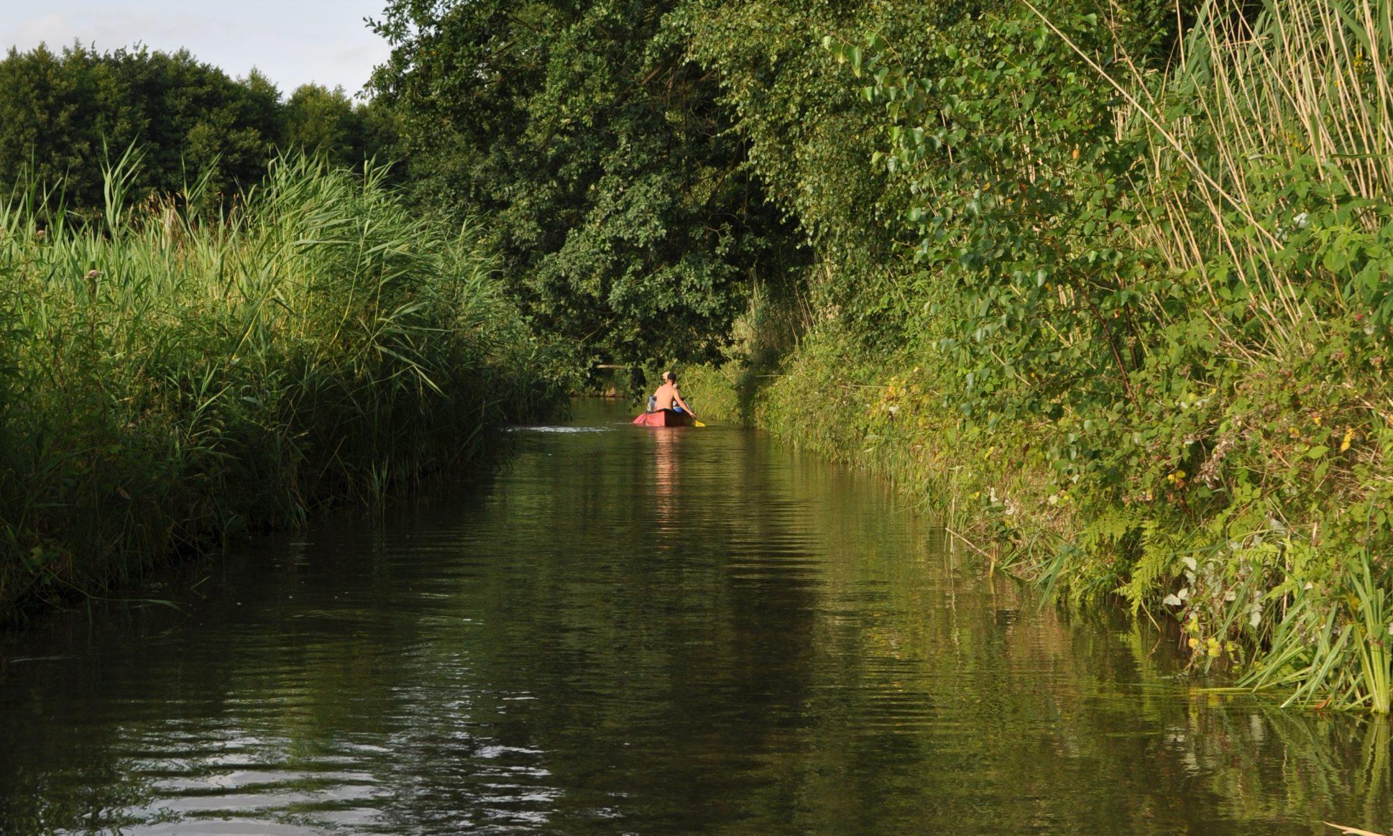 Freizeitaktivitäten an Gewässern